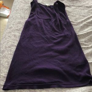 J Crew J. Crew Purple Tank Top S Small